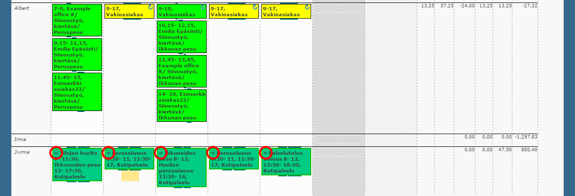 work shift planner